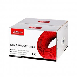 Cable UTP CAT5 305m  Dahua® PFM920I-5EUN-U