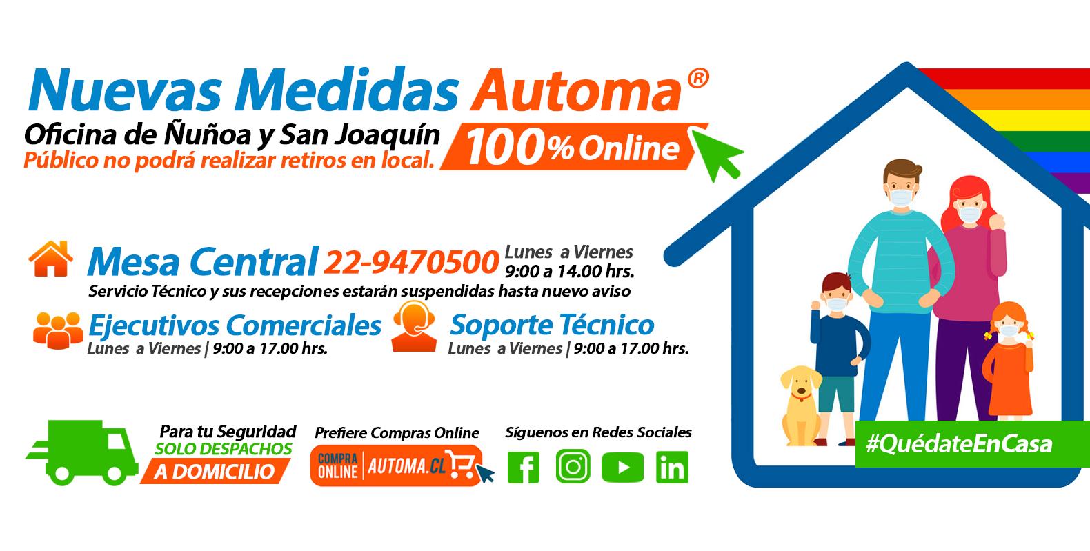 Medidas, Ventas  y Despachos Automa®