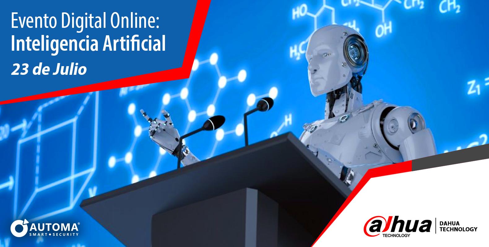 Evento Digital Online  IA Dahua | Automa®
