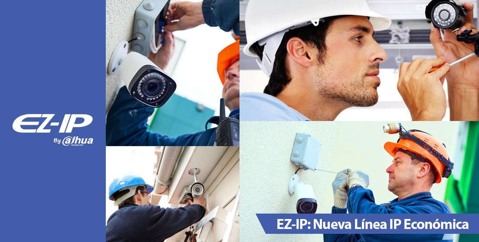 EZ-IP: La nueva línea de Cámaras IP de Dahua a bajo costo llegó a Chile