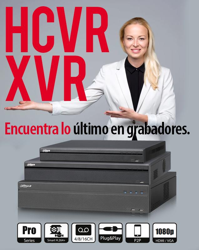 El GRABADOR XVR DE DAHUA CON INTELIGENCIA ARTIFICIAL